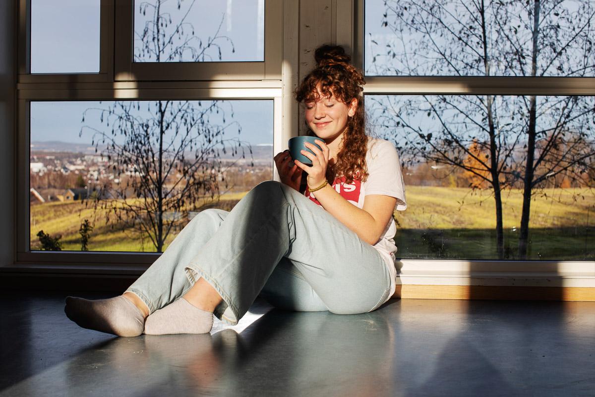 Kaffepause - VG Steinerskole på Hedemarken